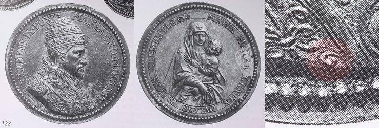 alcantara - S. Pedro de Alcántara / Sta María Magdalena de Pazzi (con marca de autor) (R.M. SXVII-Ot37) Guglielmada1