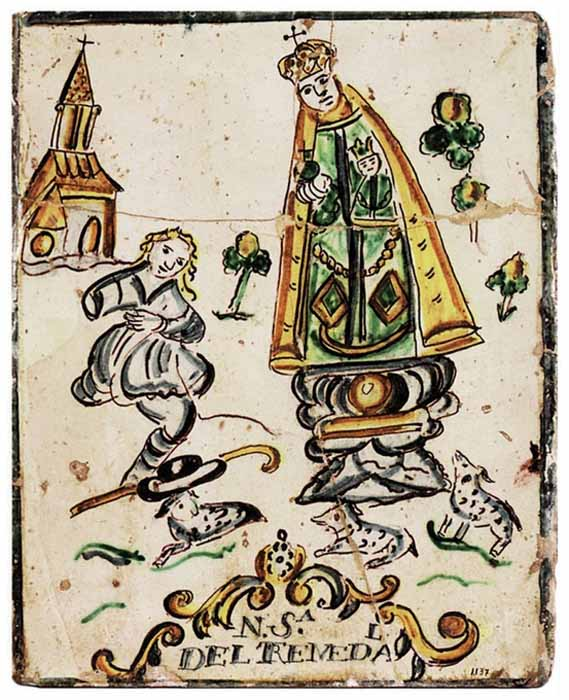 S Julián de Cuenca / Virgen del Tremedal - MR(304) (R.M. SXVIII-O172)(MAM) Mr304c