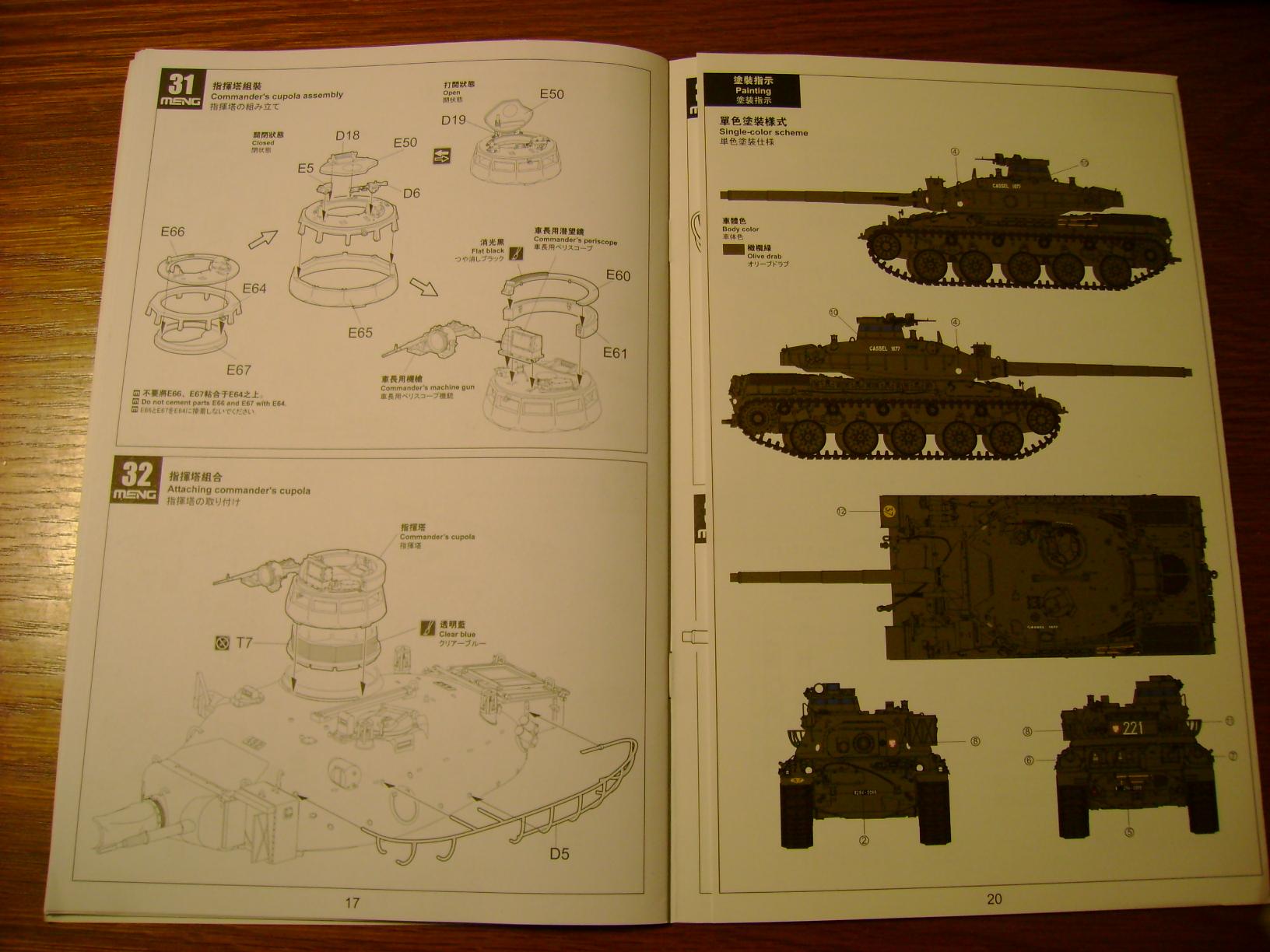 Review Kit AMX-30 B par Meng au 1/35.... Dsc03323k