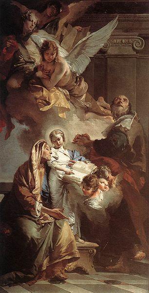 Transverberación de Santa Teresa / Santa Ana y la Virgen niña (R.M. SXVIII-O139) 62521193