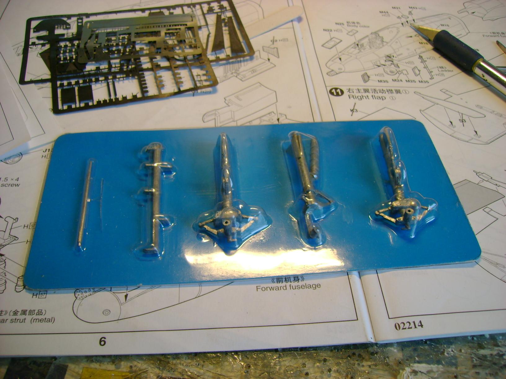 A-10 Thunderbolt II...1/32 Trumpeter + PE Edouard....( T-Bird) Up 02/12.... 72920095