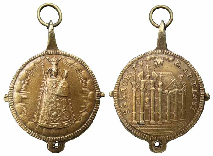 Nuestra Señora de Einsiedeln / Capilla de las Gracias - MR(322) (R.M. SXVIII-C164)(MAM) Mr322a