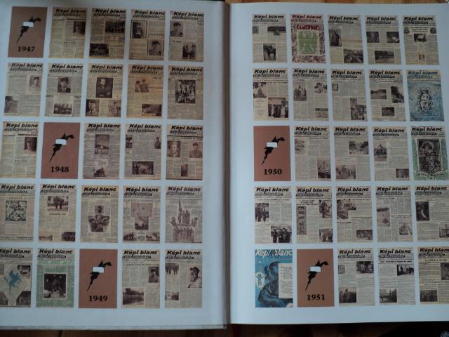 LES GRANDES PAGES DE LA LEGION - KEPI BLANC  1947-1954 74218010