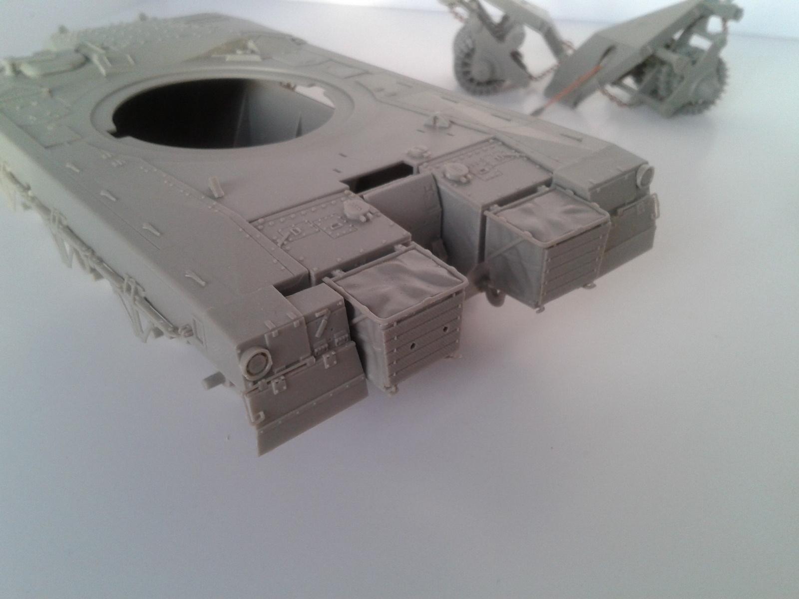 Merkava Mk.3 BAZ w/Nochri Dallet Mine Roller System Meng 1/35....Terminé !!!!! Ximc