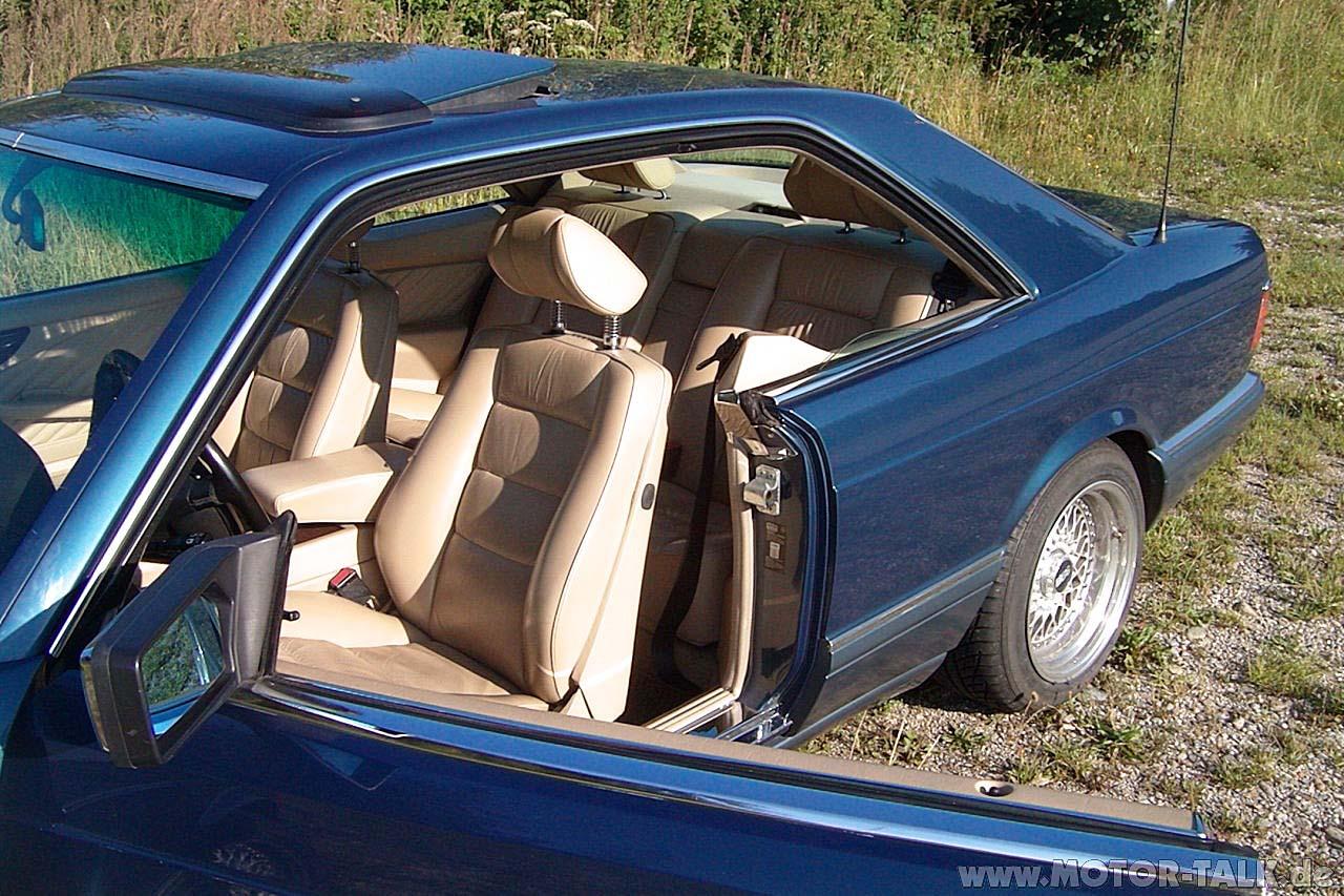 (C126): 560SEC Azul com interior Bege - Fotos Mb2063098069453334376