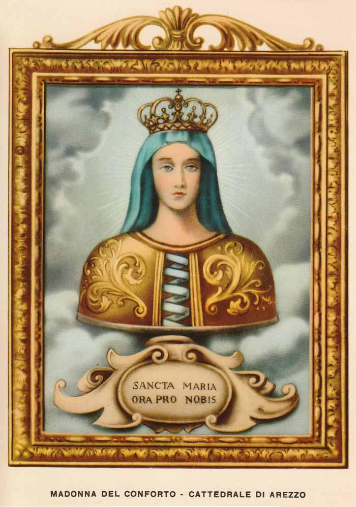 Madonna del Conforto / San Donato de Arezzo y Beato Gregorio X - MR(310) Mr310b