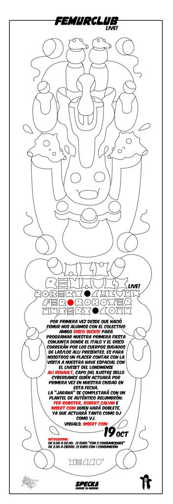 FEMURCLUB MEETS DISCO SUCKS! 19.10.2012 ALI RENAULT LIVE! Renaultvertical