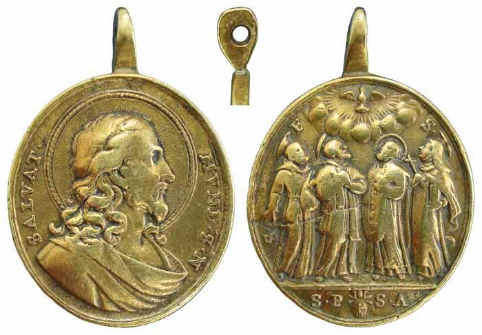 Recopilación medallas con el Rostro de Cristo ( Salvator Mvndi II) B63t