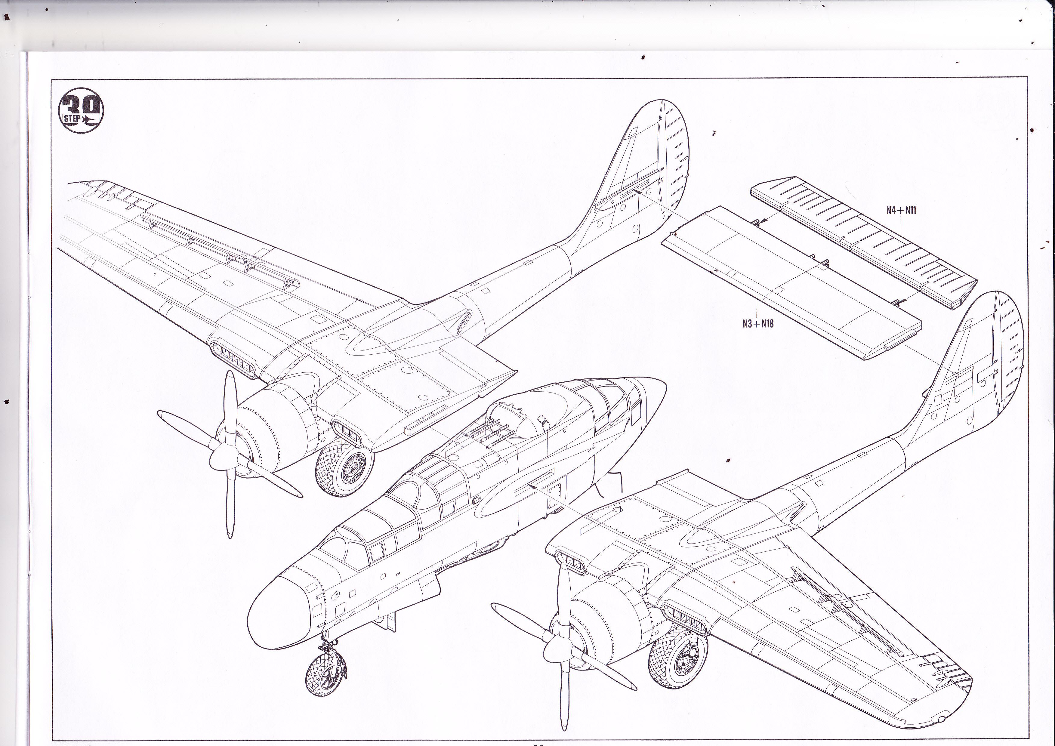 P-61 B Black Widow Hobby Boss Img0026yqv