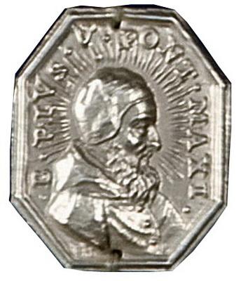 Medallas Papa nº 225 Pio V 223crop