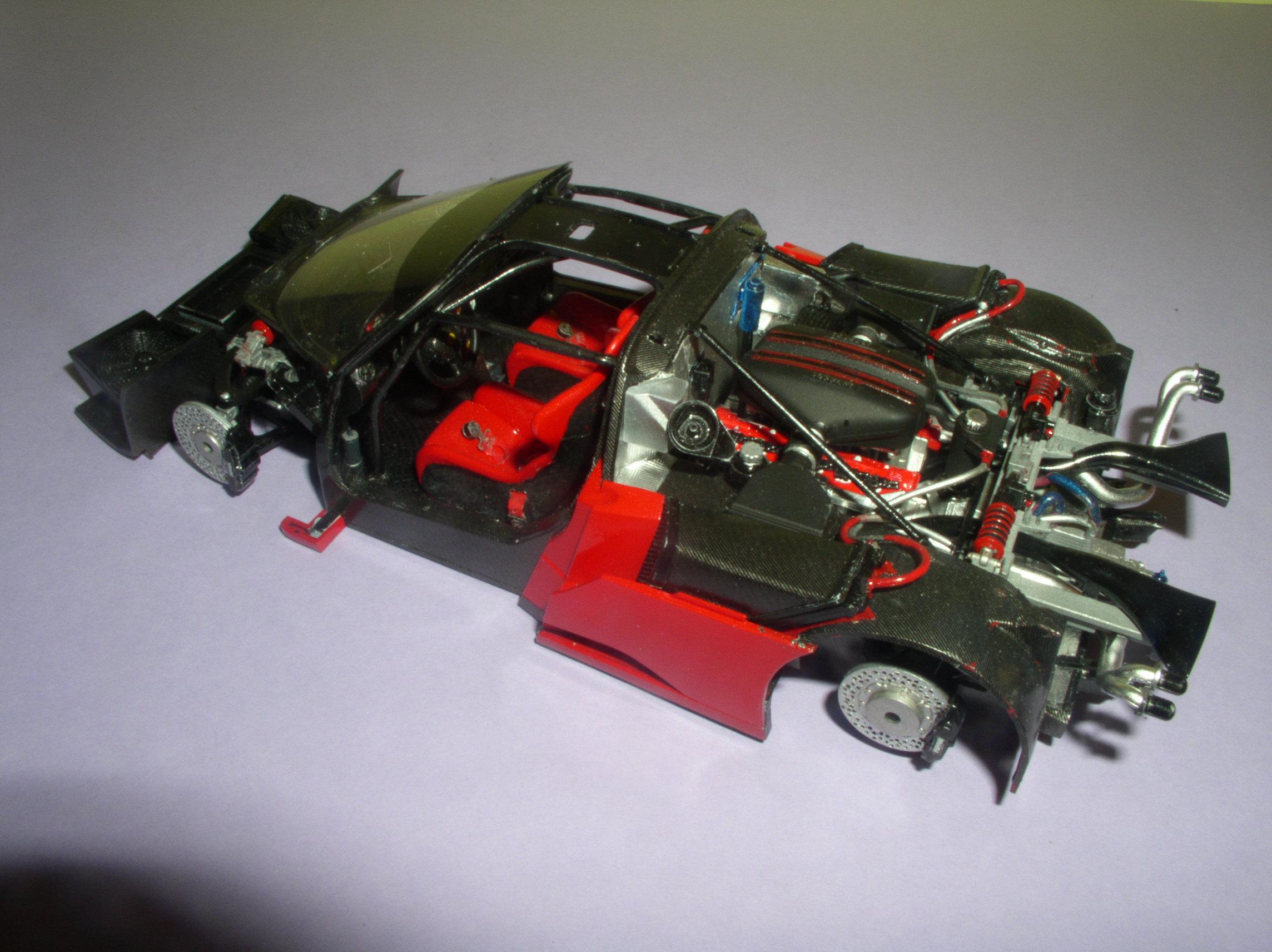 Ferrari FXX ...Tamiya 1/24... Reprise du montage !!!!!! Fxx8