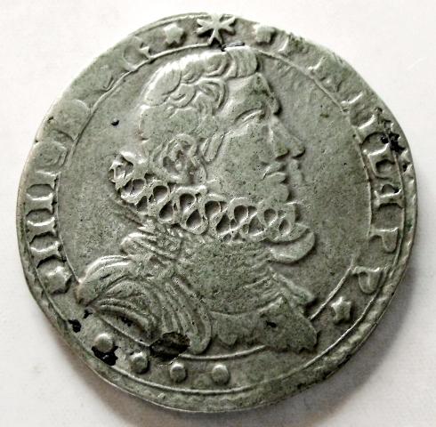 4 taris 1648. Felipe IV. Messina. Q53e