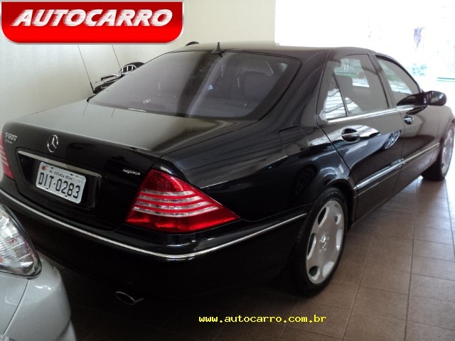 W220 S600 2002/2003 - R$ 159.000,00 73kp