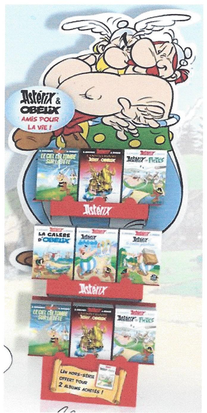 """Recevez """"LE MEILLEUR D'ASTERIX ET OBELIX : L'AMITIE"""" à l'achat de deux albums asterix (04/06/2014) Iiarv"""