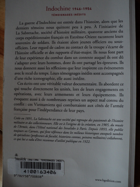 Indochine  1946-1954 Temoignages inedits  19499161