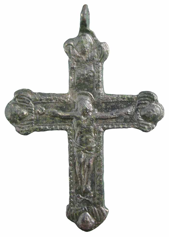 Cristo crucificado / Virgen del Pilar - CC(052) Cc052b