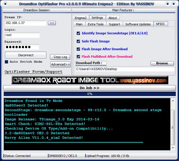 Dreambox OptiFlasher Enigma2 EDition 7qow
