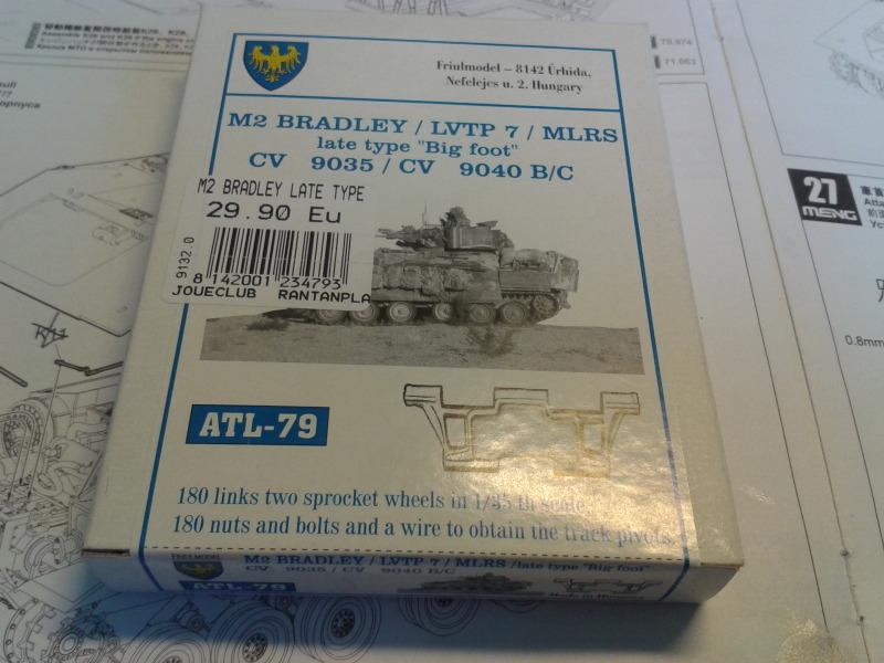 Bradleys M2A3 w/Busk III Meng 1/35 by T-Bird....Terminer !!!!! E8a3