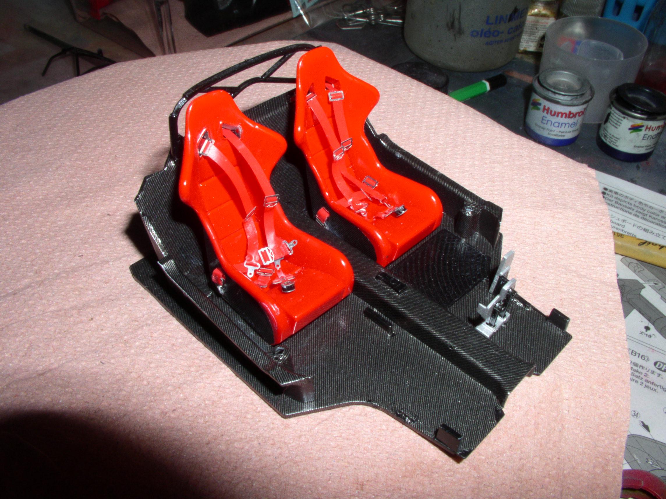 Ferrari FXX ...Tamiya 1/24... Reprise du montage !!!!!! Fxx5