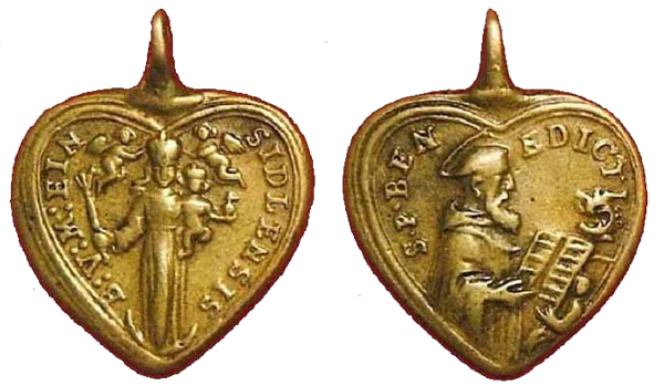 N.S. de Einsiedeln / S. Benito S.XVIII (R.M. SXVIII-Ot5 )  Fsv203escaneo111y1121