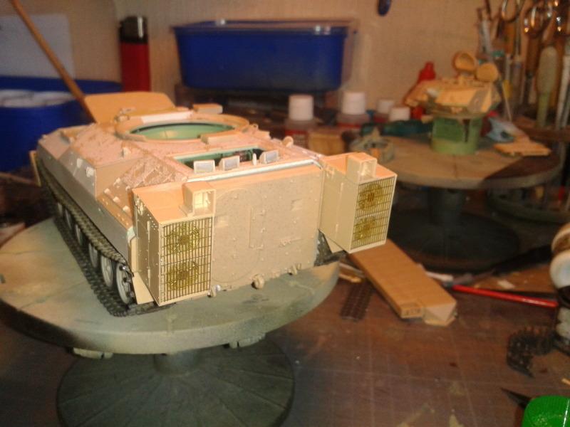Bradleys M2A3 w/Busk III Meng 1/35 by T-Bird....Terminer !!!!! Sqss