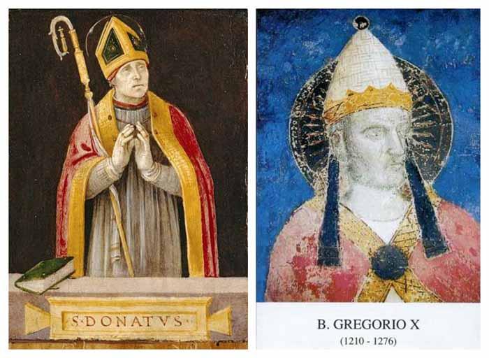 Madonna del Conforto / San Donato de Arezzo y Beato Gregorio X - MR(310) Mr310c