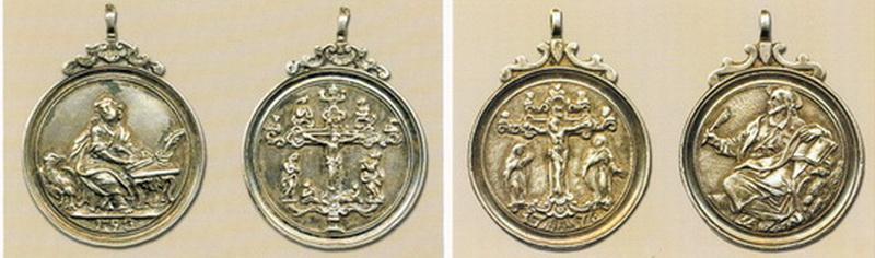 Medalla S. Juan Evangelista - NS de Consolacion (MAM) Scuolagrande