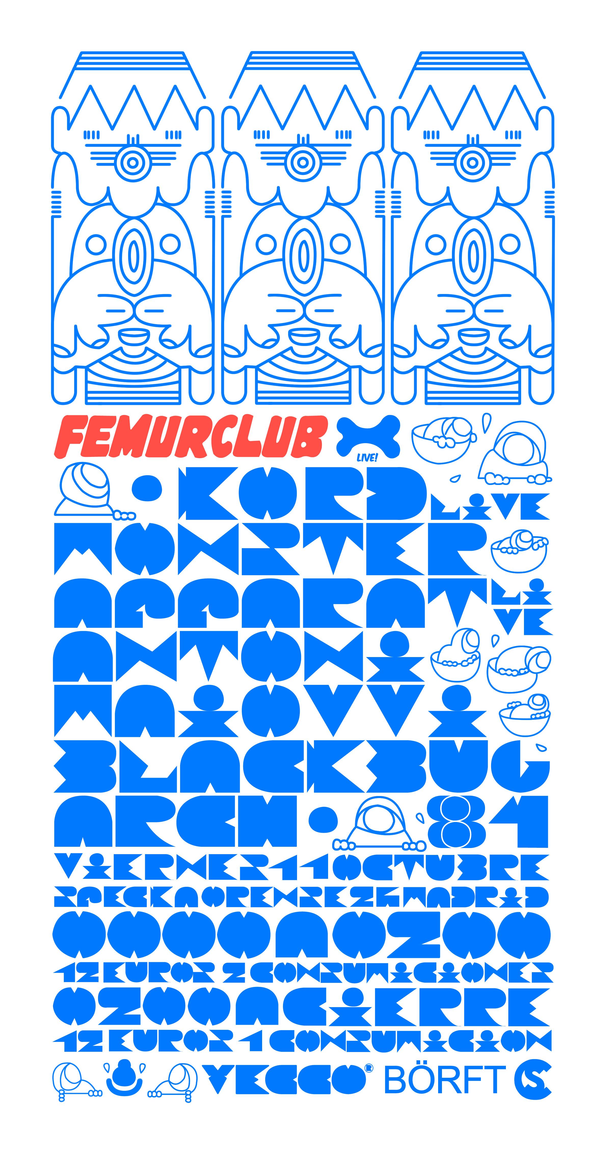11.10.2013 KORD LIVE! +MONSTER APPARAT LIVE! @ FEMURCLUB Or77