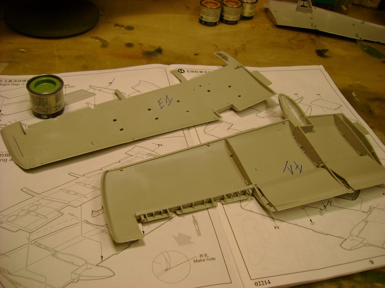 A-10 Thunderbolt II...1/32 Trumpeter + PE Edouard....( T-Bird) Up 02/12.... 73102373