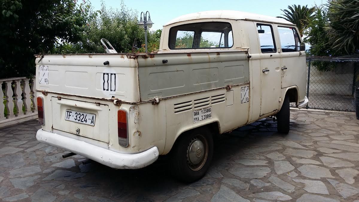 Venta furgo T2 doble cabina OlXgIE
