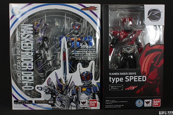 [Review] S.H. Figuarts Kamen Rider Drive type SPEED Kmt4B1