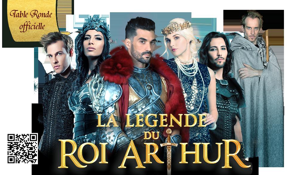 La légende du Roi Arthur, la table ronde