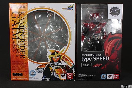[Review] S.H. Figuarts Kamen Rider Drive type SPEED UfQyUm