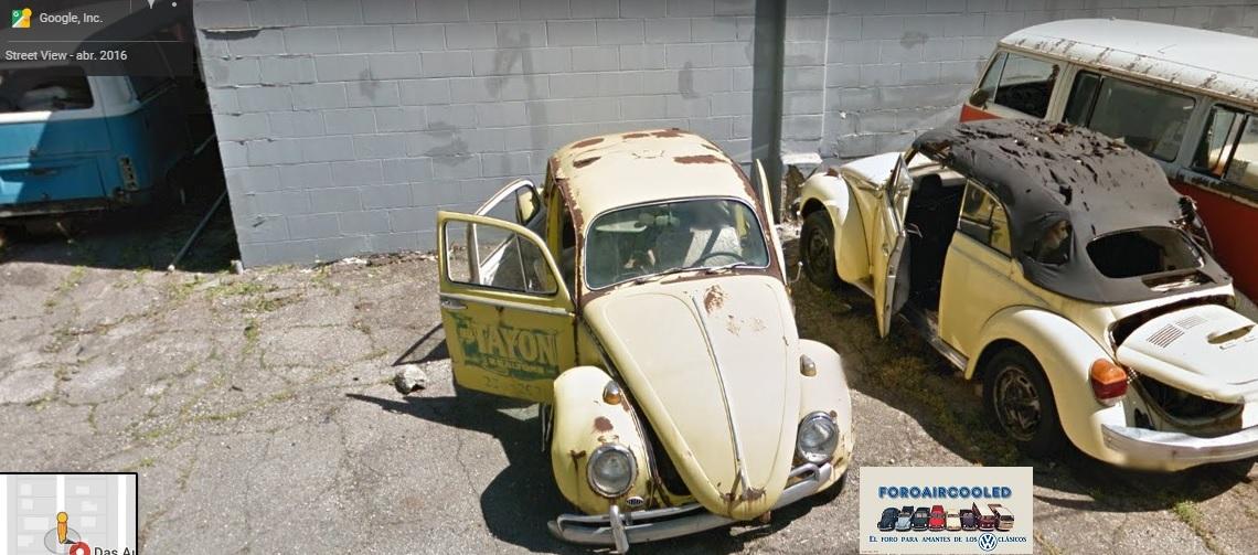 street view y VW's...  AE649v