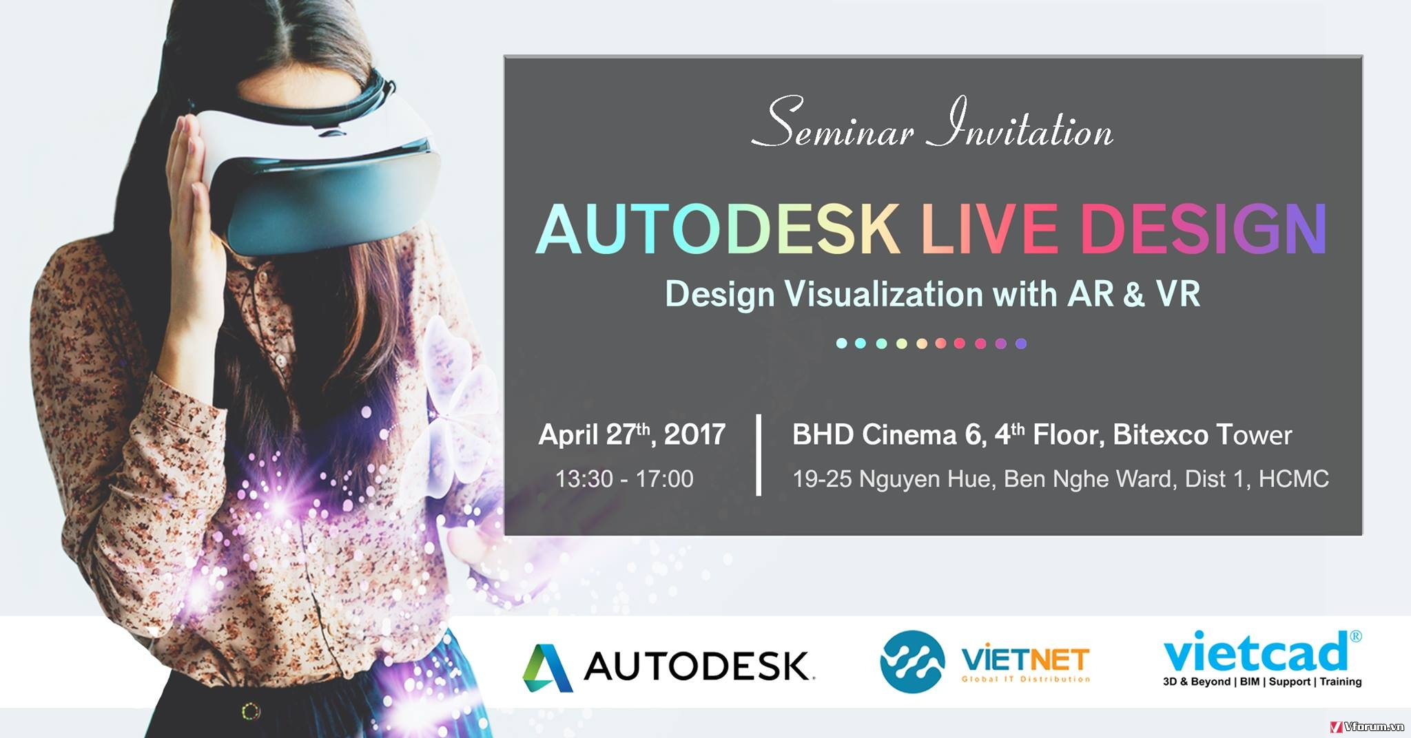 [Sự kiện] Autodesk LIVE Design - Design Visualization with AR and VR Ze8myy