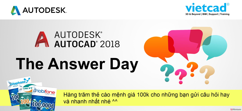 AUTOCAD 2018 ANSWER DAY - SỰ KIỆN TRỰC TUYẾN GIẢI ĐÁP THẮC MẮC VỀ AUTOCAD 2018 UaAGD8