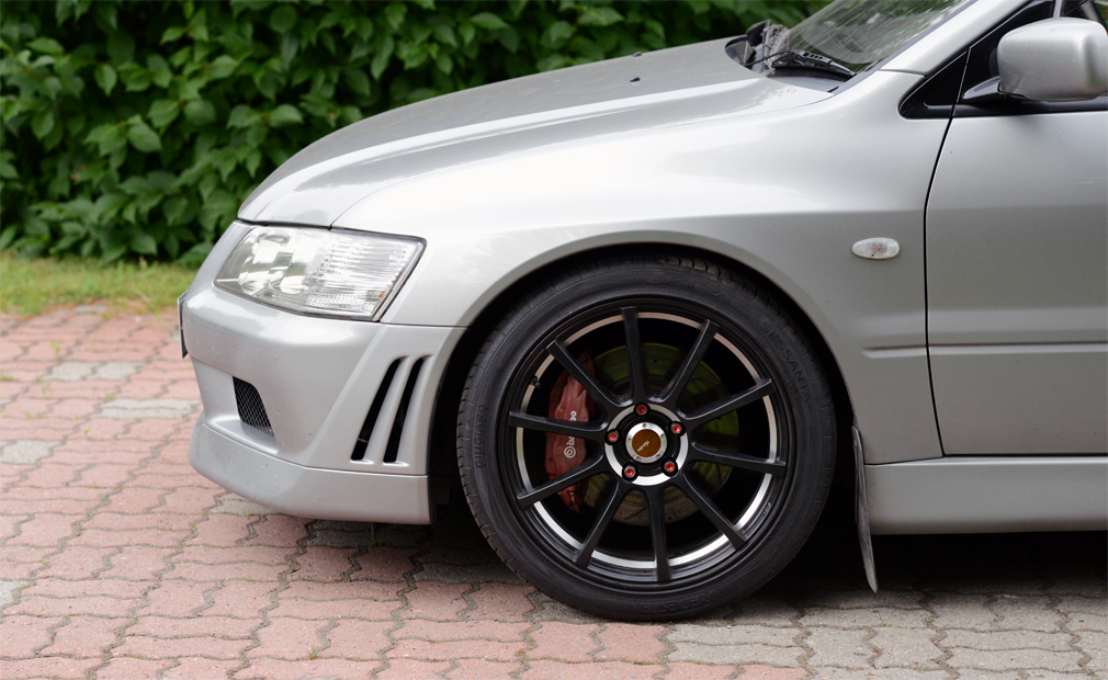 Mitsubishi Lancer Evolution VII GT-A 2003, ~139tkm HedXic
