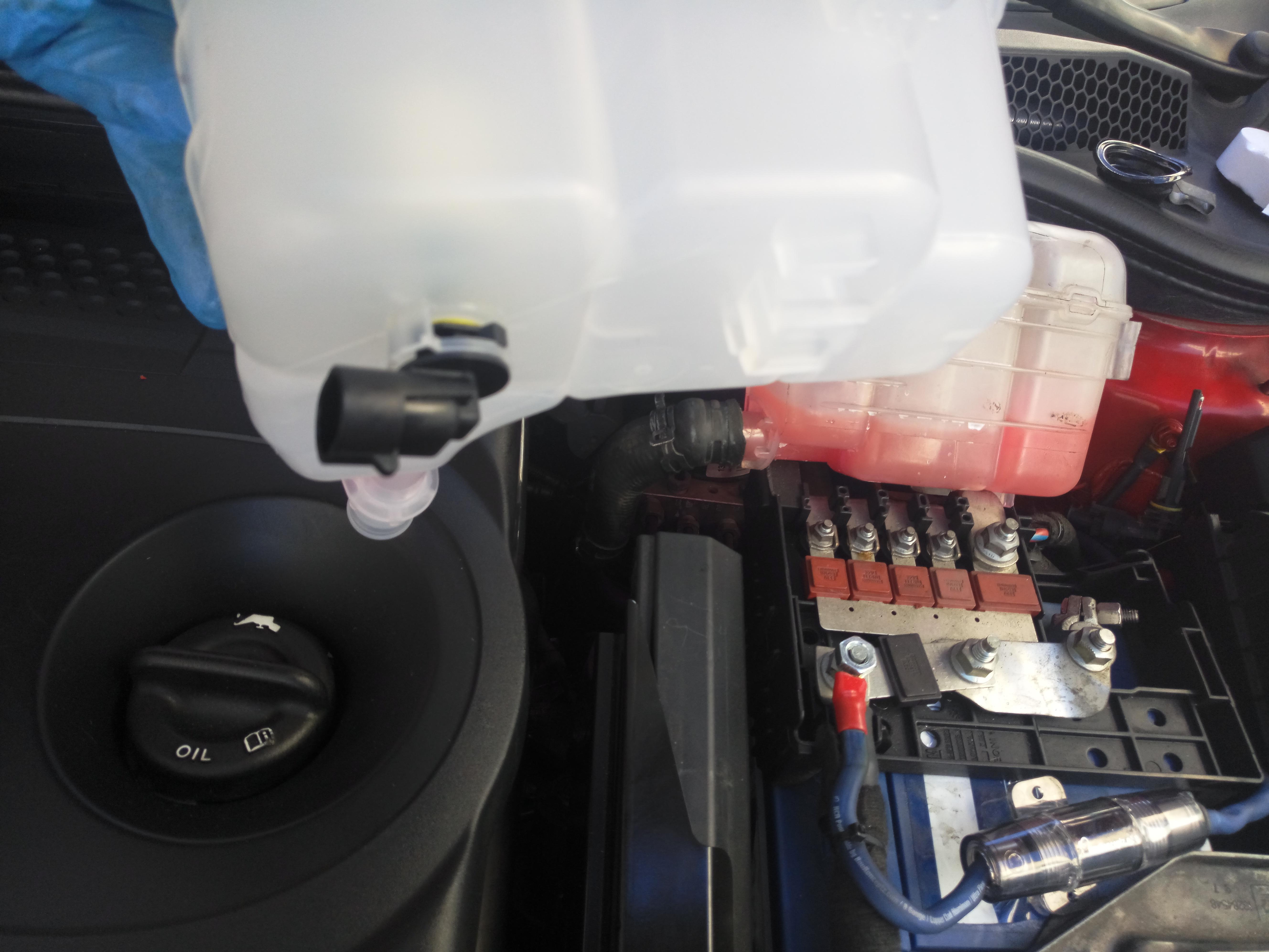 [BRICO J] Vaso de Expansion + Sonda (Astra J 2.0 CDTI) A77SPi