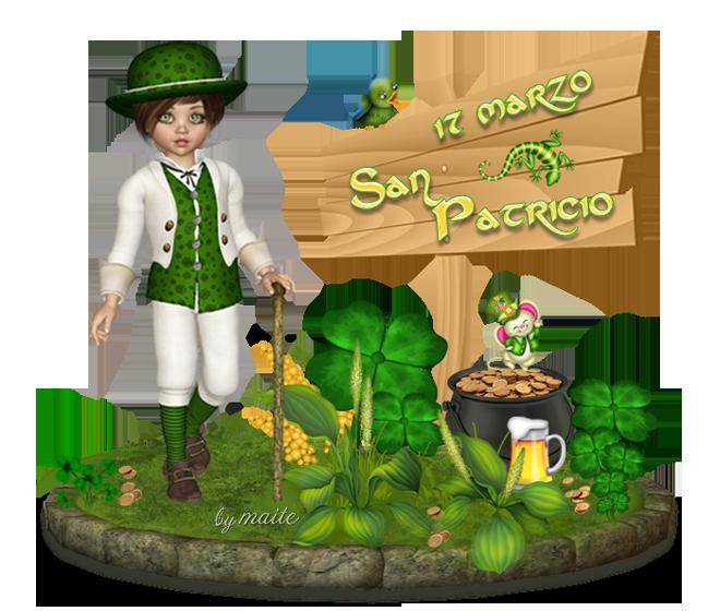 09 -TARJETAS DIA DE SAN PATRICIO DbhKUf
