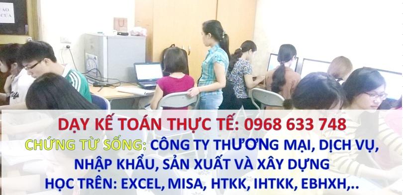 Dạy lập báo cáo tài chính cuối năm tại Hà Nội ERnqIo