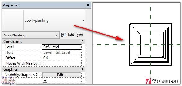 Tạo thư viện mô hình có thể phóng to, thu nhỏ trong Revit J8OI9s