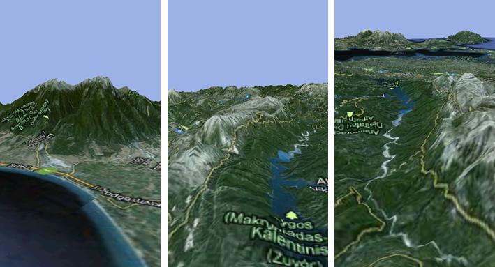 Οrux Maps και Orux Maps 3D beta Olymposc