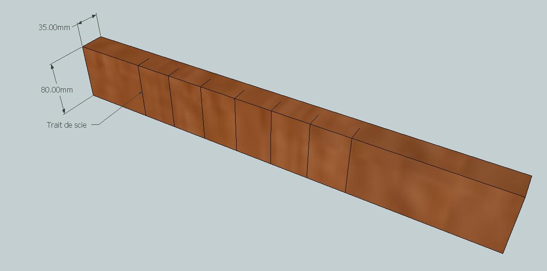 Construction d'une palissage en partie arrondie Y38