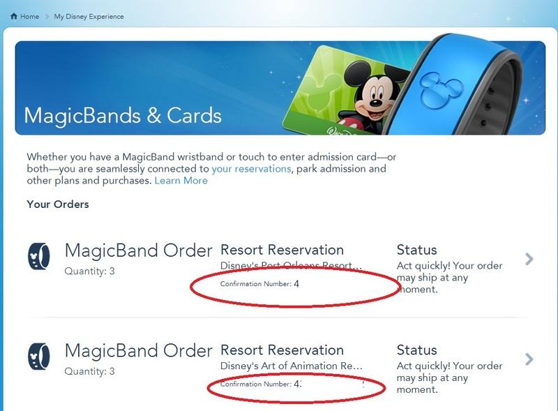 Problème My Disney Experience + Ultimate Ticket 14 jours 662e14