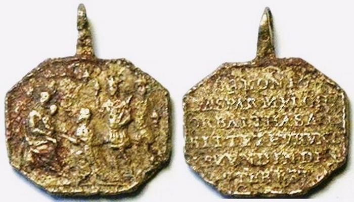 ICONOGRAFIA de la NATIVIDAD en las medallas devocionales Med14centauro