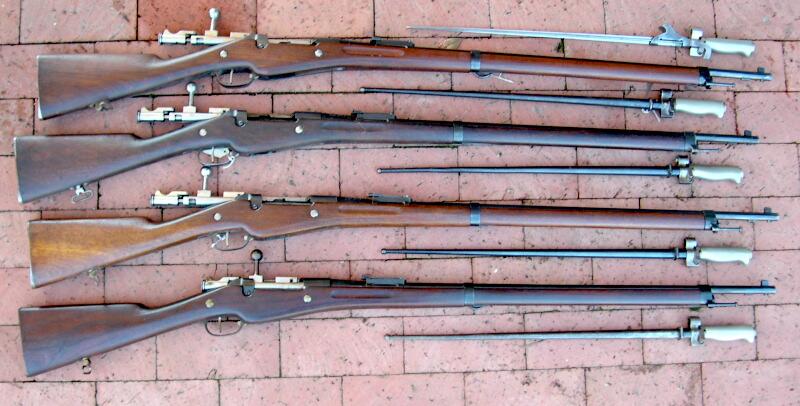 Nombre de fusils 1907-15 et M16 produits Remb4