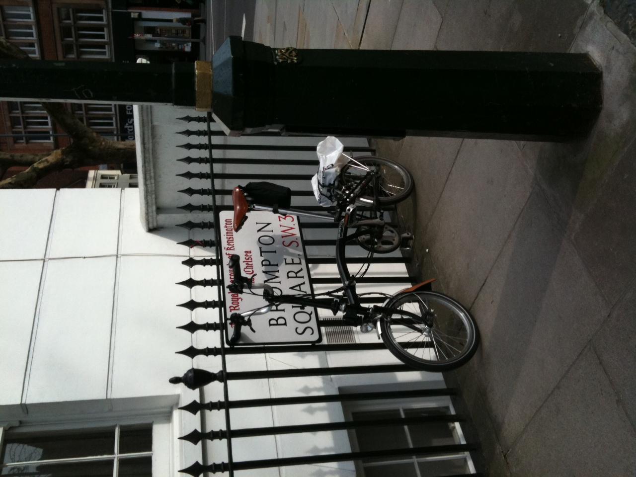 Quartier Brompton à Londres Brompton