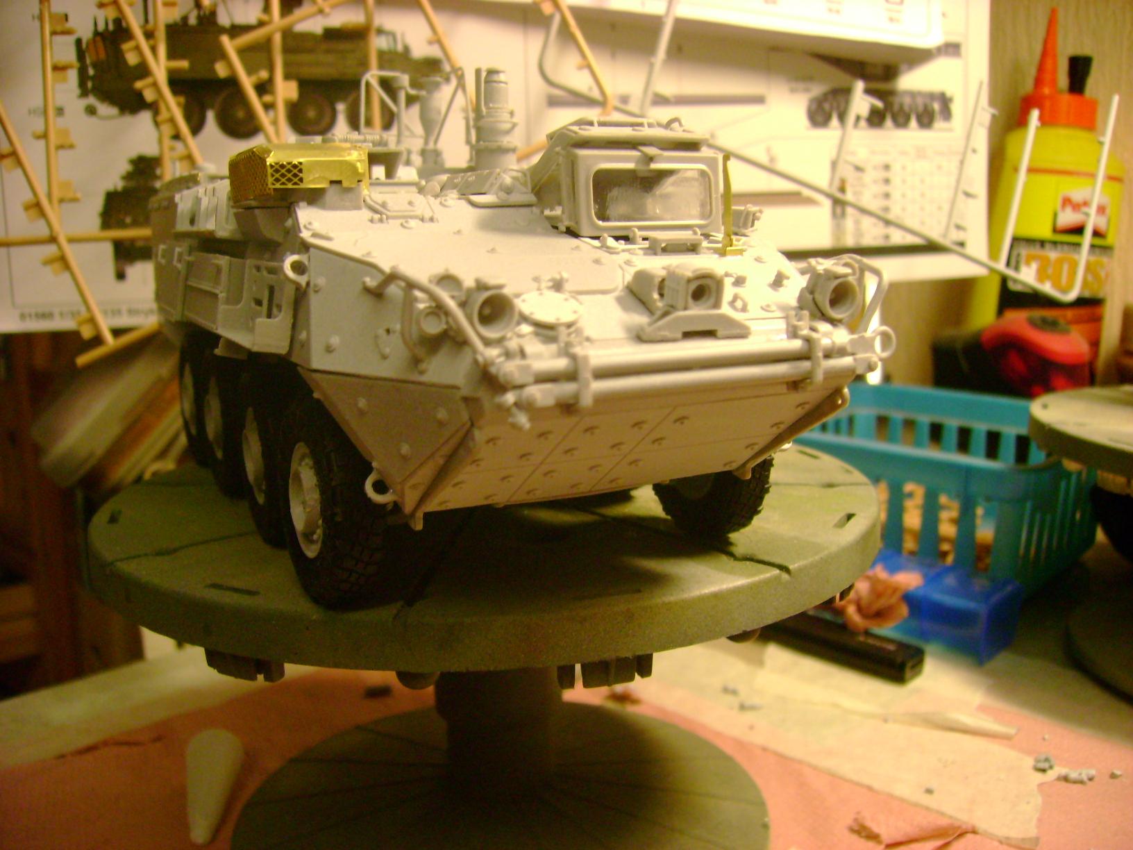 M1135 Stryker NBC RV 1/35 Trumpeter.... Terminé.... 53021806