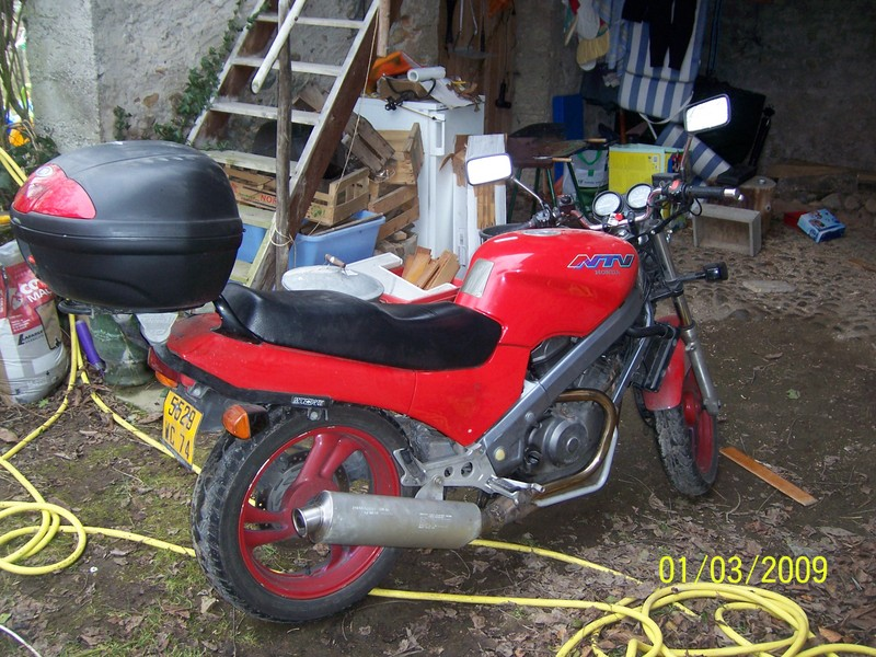 NTV - Adaptation Echappement Ducati/Austin ... 1023510