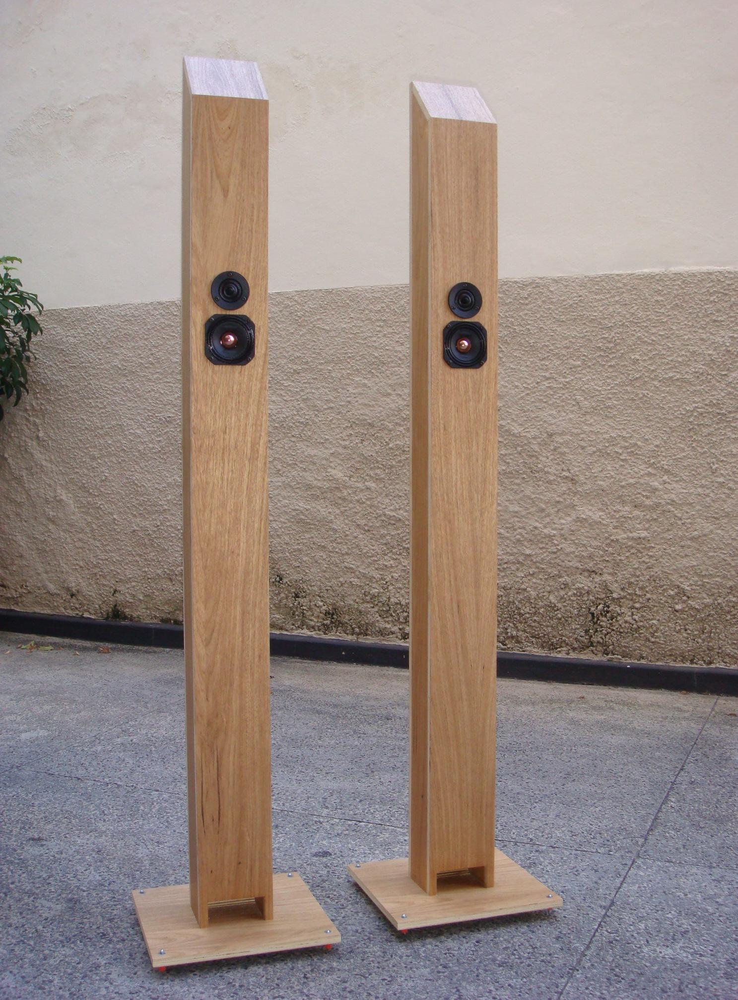 Colunas de Som DIY.(Galeria) Zigmahornet360